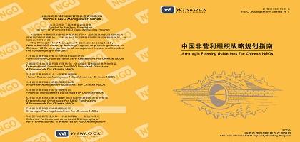 中國非營利組織戰略規劃指南